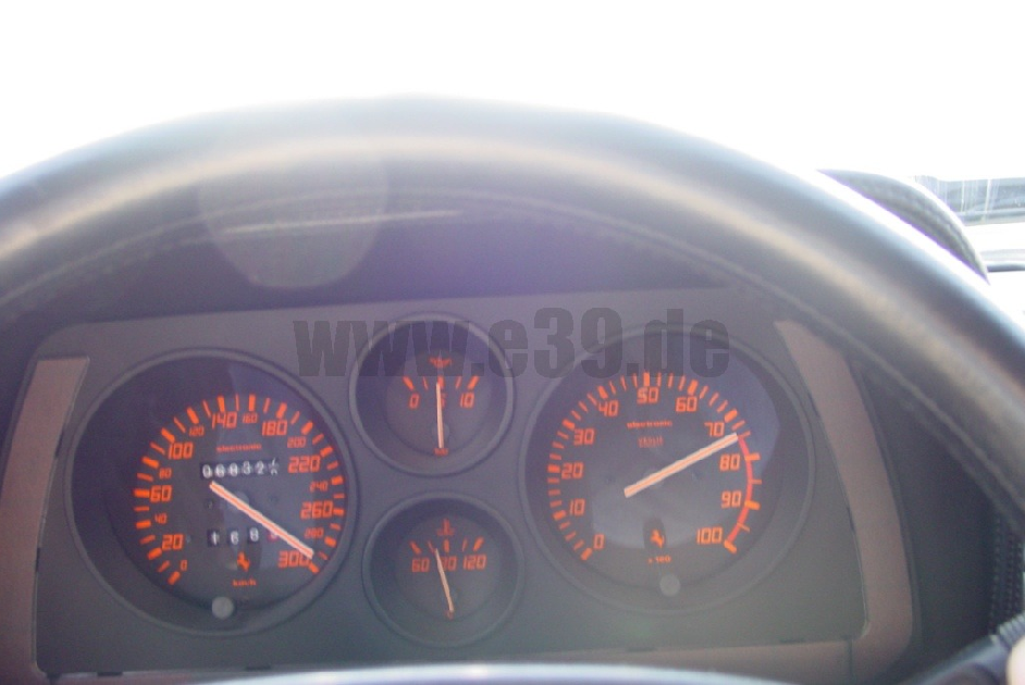 Top Speed of Ferrari 5